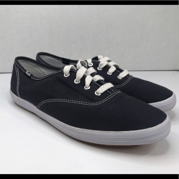 Keds Navy Women's Canvas Sneakers Size 7.5